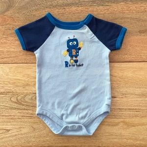 R is for Robot • Garanimals onesie
